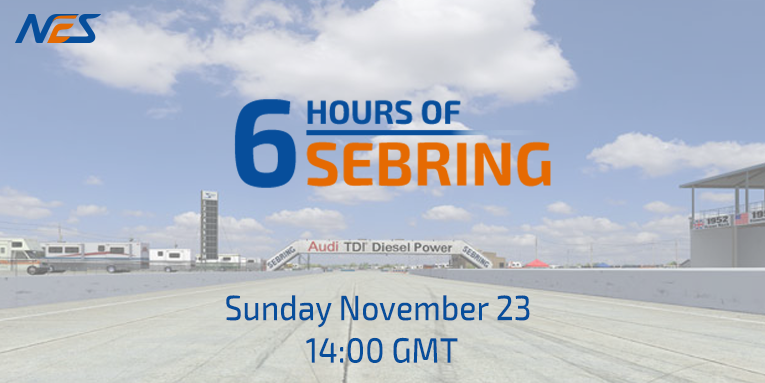NES 6 hours of Sebring