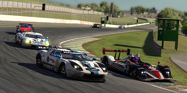 Multiclass ballet at Interlagos