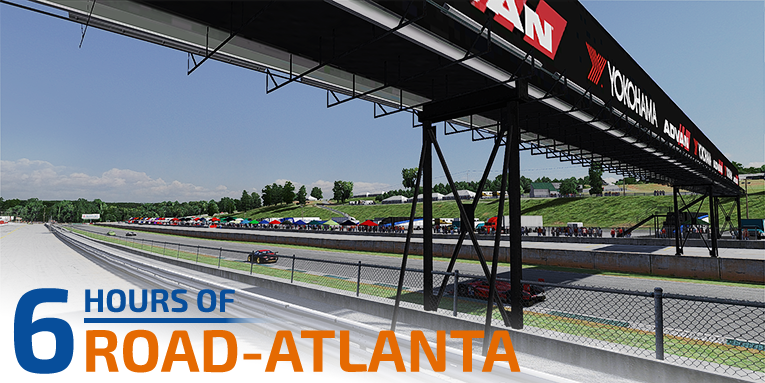 Battles until the end at Road-Atlanta