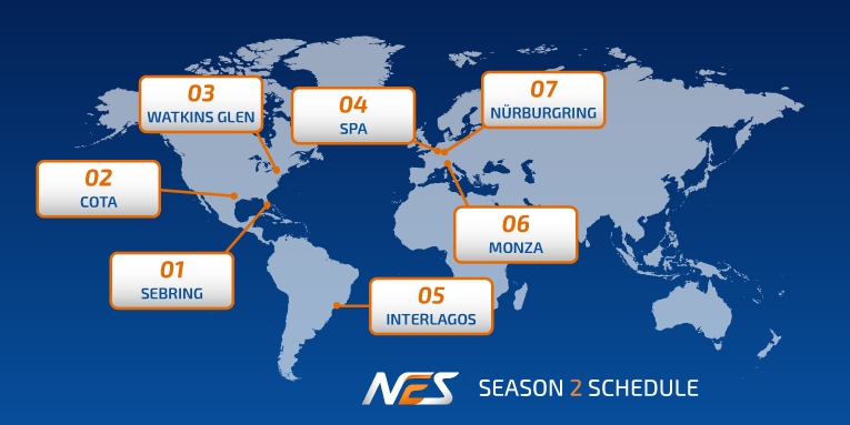 NEO Endurance Series season 2 schedule unveiled