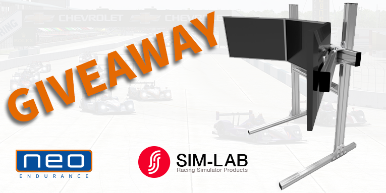 Win a Sim-Lab triple monitor mount