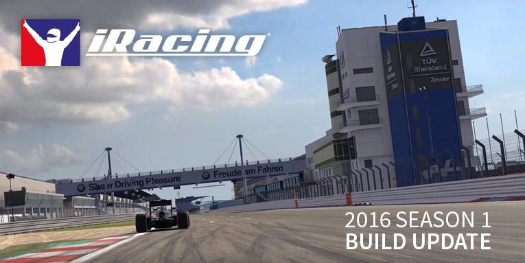 iRacing 2016 season 1 build