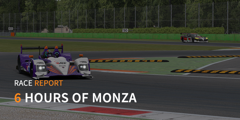 High speed action at Monza