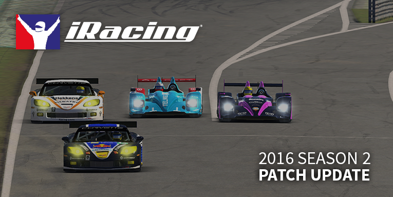 iRacing 2016 season 2 patch (update)