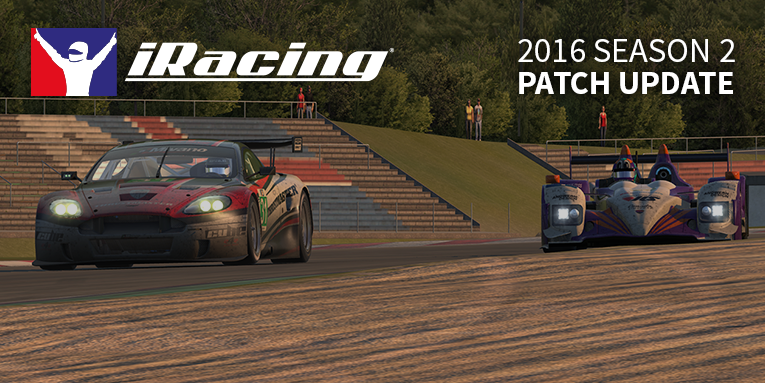 iRacing 2016 season 2 patch 3