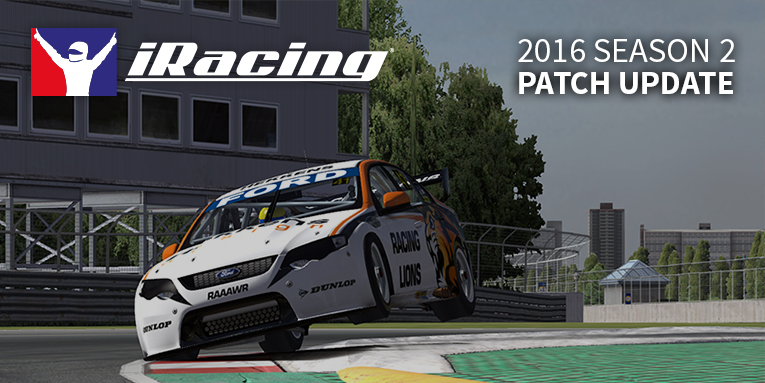 iRacing 2016 season 2 patch 2.2