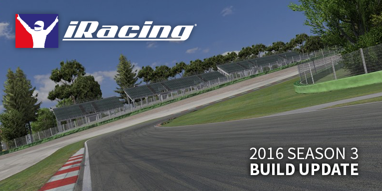 iRacing 2016 season 3 build
