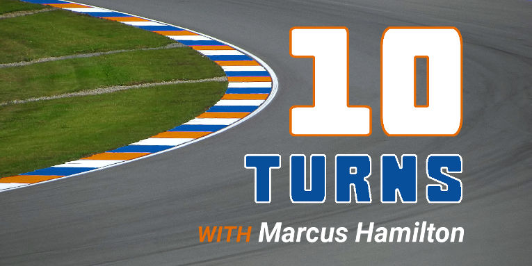10 Turns with Marcus Hamilton