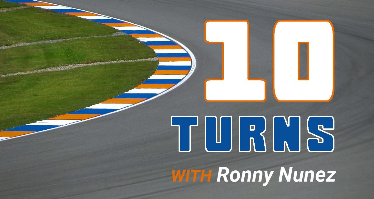 10 Turns with Ronny Nunez