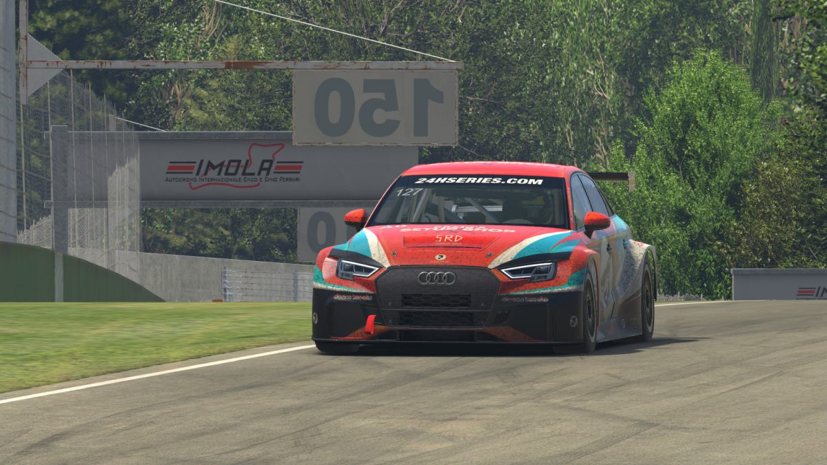TCR Recap: CraigSetupShop the Last Leader Standing at a Contact-Packed Imola