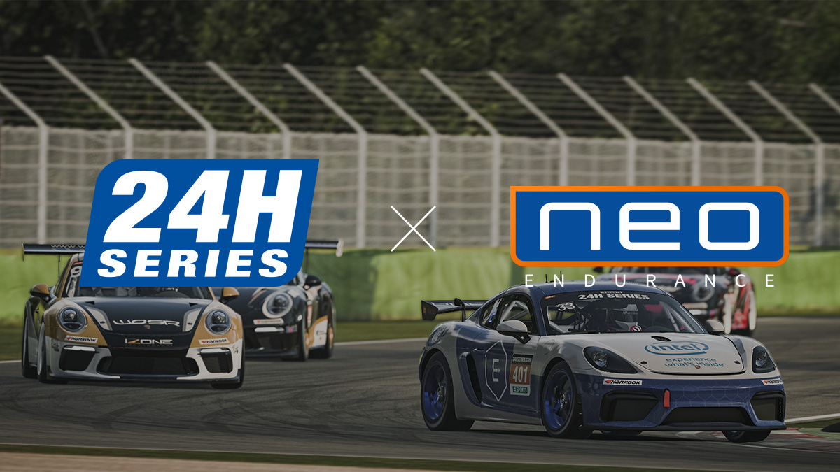 NEO Endurance to officially become 24H SERIES ESPORTS